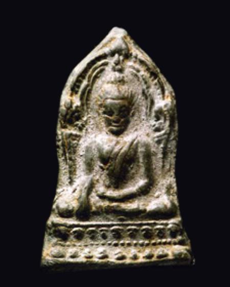 พระพุทธชินราชใบเสมา พิมพ์กลาง กรุวัดพระศรีรัตนมหาธาตุ จังหวัดพิษณุโลก